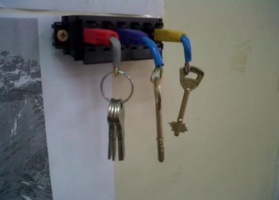 ethernet key chain