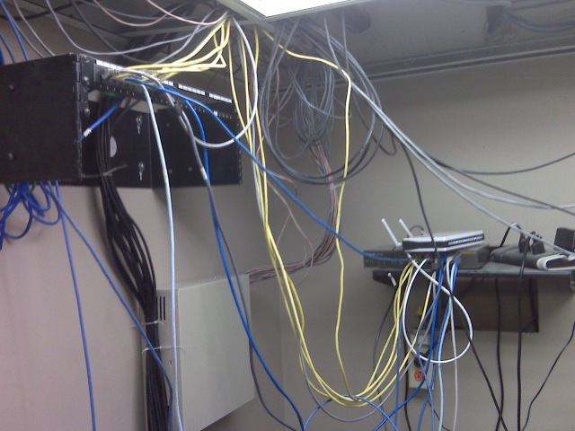 Cabling Mess