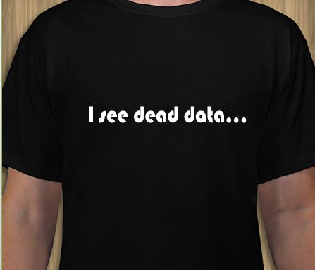 i see dead data generic shirt